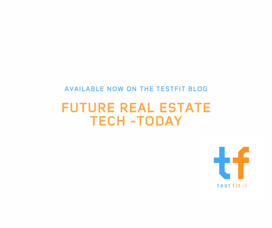 Future real estate tech - today