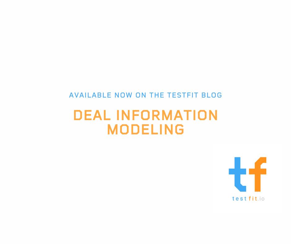 Deal Information Modeling