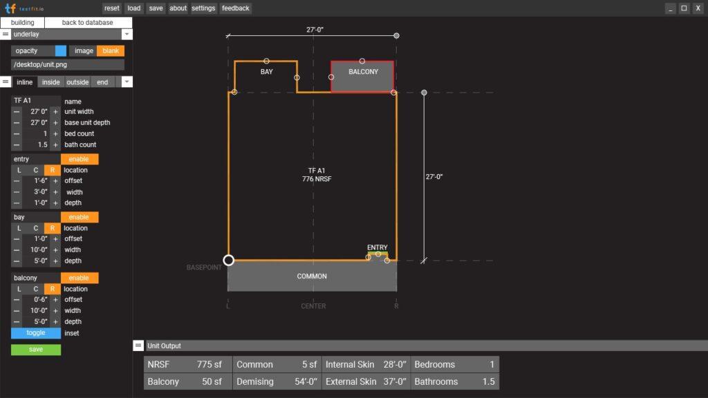 Fudging inline units for irregular spaces