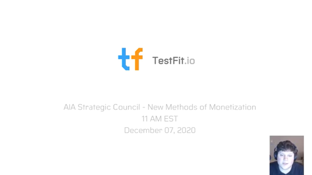 TestFit presents to the AIA Strategic Council